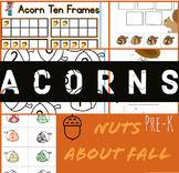 Nuts About Fall! | Acorn PRE-K Themes | Autumn / Fall Back