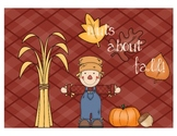 Nuts About Fall--Read the Room
