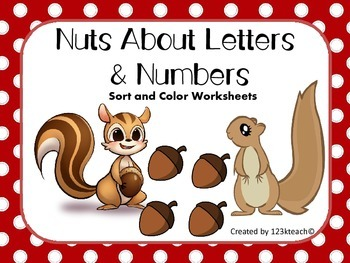 Nuts About Letters & Numbers