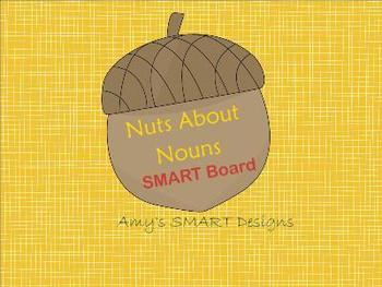 Nuts About Nouns SMARTboard Unit