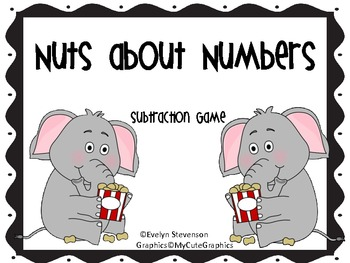 Nuts About Numbers Subtraction Game
