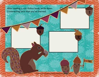 Nuts About Reading-FUn Literacy Activities