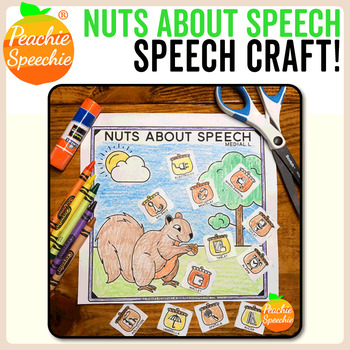 Nuts About Speech Craft {No Prep!}
