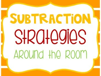 Nuts About Subtraction Strategies