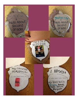 Nuts About ____ Fall Writing activity for 1st, 2nd, and 3rd Grade