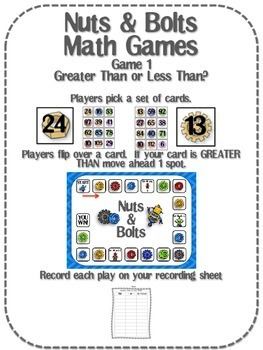 Nuts & Bolts Math Games