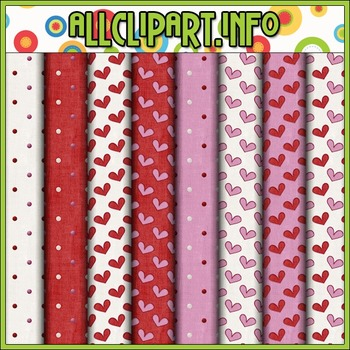 Nuts & Bolts Valentine Robots 1 Digital Papers