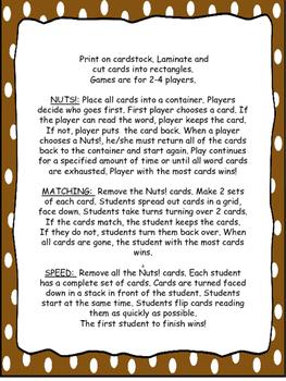 Nuts! CVC Word Games