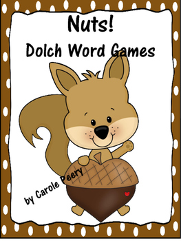 Dolch Word Games Nuts!