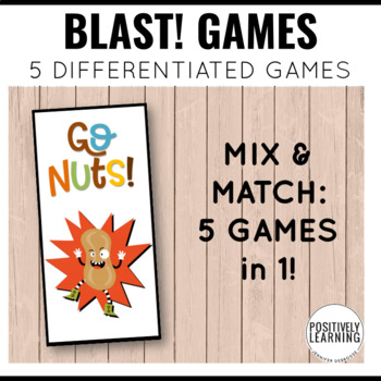 Nuts! Phonics and Sight Word Blast Game