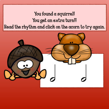 Nuts about Fall! Interactive Music Rhythm Game for Google/Adobe-Half Note ed.
