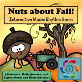 Nuts about Fall! Interactive Music Rhythm Game for Google/
