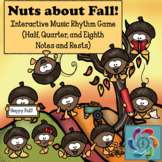 Nuts about Fall! Interactive Music Rhythm Game-for use wit
