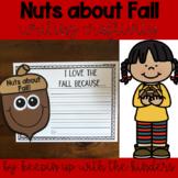 Nuts about Fall! Writing Craftivity