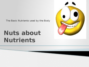 Nuts about Nutrients