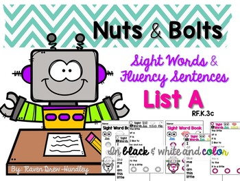 Nuts and Bolts Sight Words