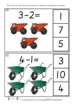 Nuts and Bolts Subtraction