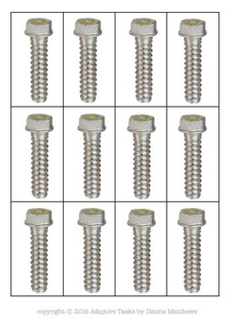 STOCKING TASK Nuts and Bolts