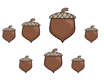 Nuts for Fall: Sorting by Size