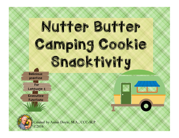 Nutter Butter Camping Cookie Snacktivity