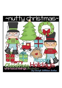 Nutty Christmas Clipart Collection~ Nutcrackers