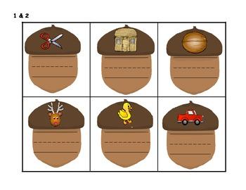 Nutty Fun Phonics Short Vowel U Word Activities