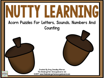 Nutty Learning: Acorn Puzzles for Letters, Sounds, Numbers & Counting