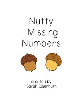 Nutty Missing Numbers - Missing Numbers 1-9