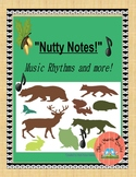 Nutty Notes!  Woodland themed to help Tap, Write and Read !
