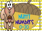 Nutty Numbers 0-20: Number Recognition, Sorting & Number Formation Practice