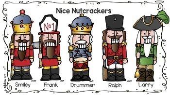Nutty Nutcracker Read! Think! Write!-- December Literacy & Logic Riddles