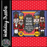 Nutty Nutcracker Read! Think! Write!-- Literacy & Logic Ri
