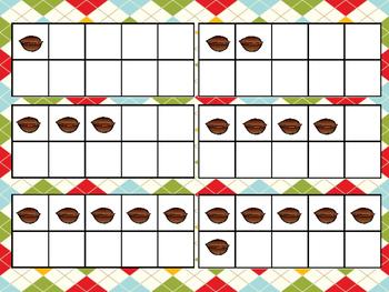 Nutty Nutcracker Ten Frame Game