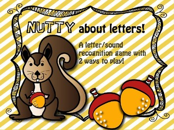 Nutty about letters