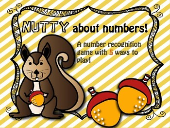 Nutty about numbers