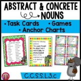 Abstract Nouns Games, Activities, Anchor Charts