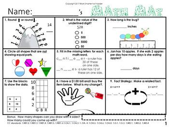 NwEa Map Math Skills Review Set 4