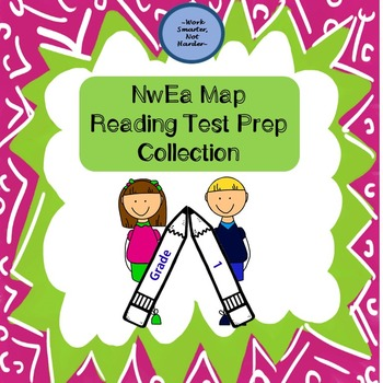 NwEa Map Reading Bundle for Grade 1