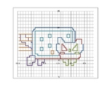 Nyan Cat Coordinate Graphing Activity