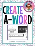 Nyla Nova's Create-A-Word