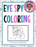 """Nyla Nova's """"Eye Spy"""" Coloring Page"""