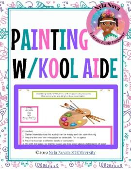 Nyla Nova's Painting with Kool Aid