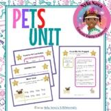 Nyla Nova's Pets Thematic Unit