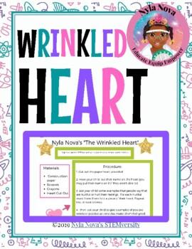 "Nyla Nova's ""Wrinkled Heart"""