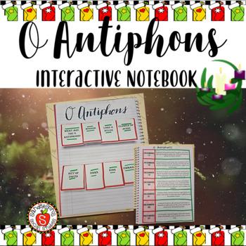 O Antiphons Interactive Notebook & Worksheet