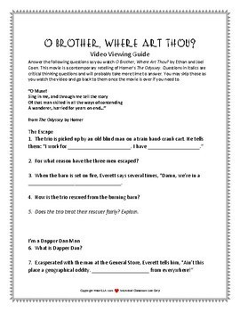 O Brother, Where Art Thou? Movie Guide