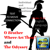 O Brother, Where Art Thou? and The Odyssey Text to Movie Connection