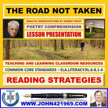 THE ROAD NOT TAKEN - LESSON PRESENTATION