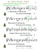 O CHRISTMAS TREE  - for beginning violin in Gmajor & A major