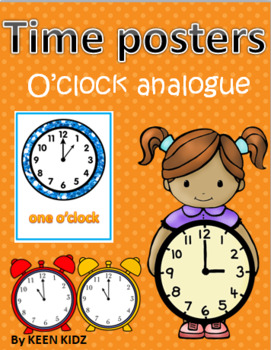 O'CLOCK ANALOGUE POSTERS